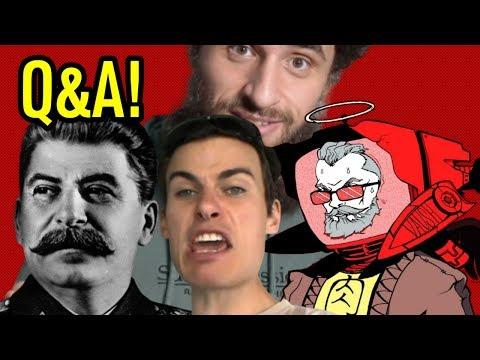 Stalin? Vaush? Friendlyjordies? EMPANADAS?! - 10k Q&A! | BadEmpanada