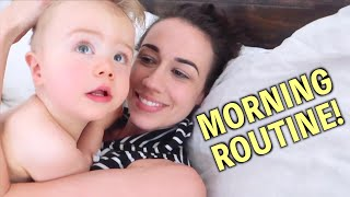 COLLEEN BALLINGER MORNING ROUTINE WITH A ONE YEAR OLD!