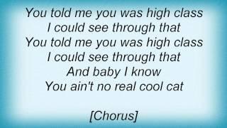 Eric Clapton - Hound Dog Lyrics