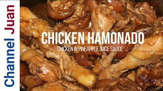 Chicken Hamonado (in Pineapple Juice Sauce): the proven way in 2019 (ENGLISH)