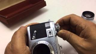 Contax IIa + ZEISS-OPTON Sonar 50mmF1.5