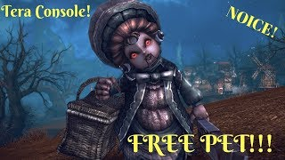 Tera - Console How To Get a Free Pet!