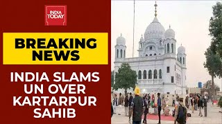 India Slams United Nation For Selectivity Over Kartarpur Sahib Gurudwara Management | India First - Download this Video in MP3, M4A, WEBM, MP4, 3GP