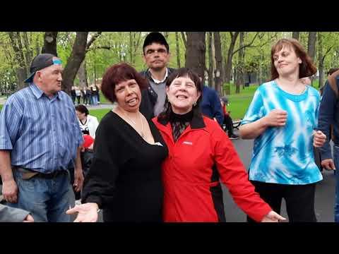 Любовь запретная!!!Танцы в саду Шевченко,Харьков.