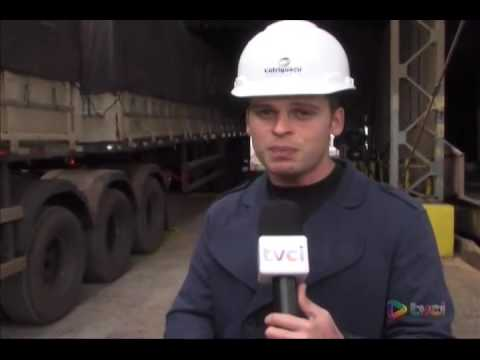 """""""Cotriguaçu inaugura tombador para caminhões de 30 metros em Paranaguá"""""""