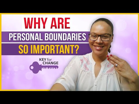 Personal boundaries - Three tips that may assist you