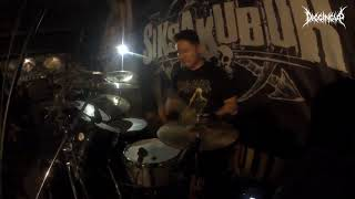 (Drum Cam) DIGGING UP - Womb Full Of Scabs (Disgorge Cover)
