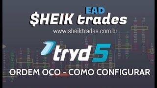 🔵 Como Configurar ORDEM OCO? No Tryd (One Cancels The Other)