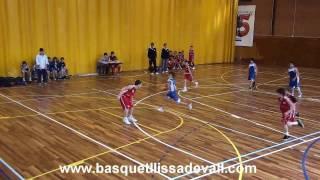 preview picture of video '!! JUGADAS DE BASQUET GERARD MOLI  11años !!'