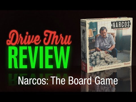 """[DriveThruReview] #643: """"Narcos: The Board Game"""""""