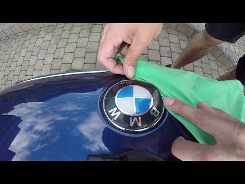 BMW E46 Hood Emblem Replacement