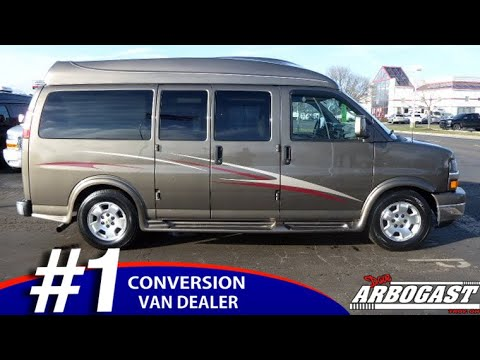 Pre-Owned 2014 Chevrolet Conversion Van Customizer's