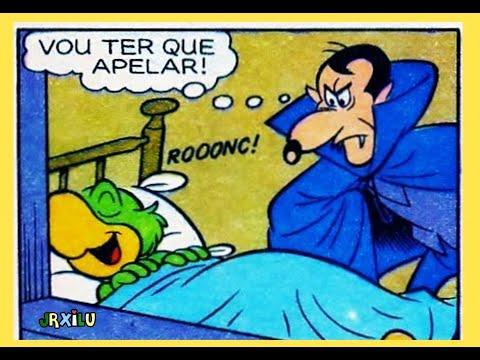 Zé Carioca   A volta do vampiro - Quadrinhos Disney