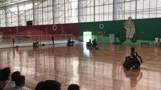 Wheelchair Rugby demonstration @ Paralympic Center in São Paulo