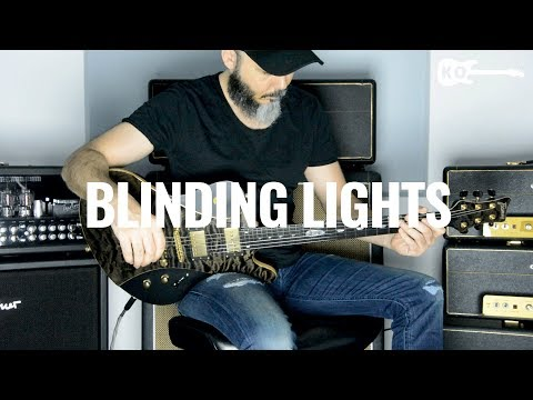 The Weeknd - Blinding Lights - Electric Guitar Cover by Kfir Ochaion
