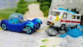 Видео для детей с игрушками - Новая машина Кэтбоя! Мультики про машинки новые серии 2018