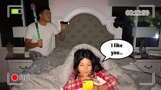 I GOT CAUGHT CALLING MY CRUSH AT 12AM **GOES HORRIBLY WRONG**