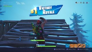 Victory Royale! Season 7 Victory....finally.
