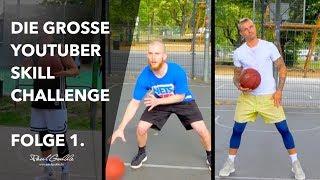 Wer hat mehr SKILLS?! YouTuber Basketball Skill Challenge #1