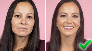 HOW TO LOOK 10 YEARS YOUNGER WITH MAKEUP! Easy Everyday Tutorial