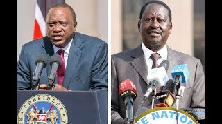 The battle between the Kenyatta's and Odinga's in the hands of the Supreme Court judges