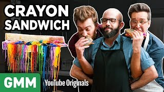 The Simpsons' Grilled Crayon Sandwich ft. Binging With Babish