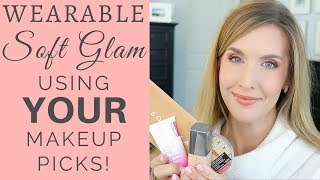 EVERYDAY POLISHED MAKEUP LOOK with VIEWER RECOMMENDATIONS! GRWM