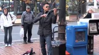 Train  Hey, Soul Sister cover) Electric Violin Remix -  Bryce Andres
