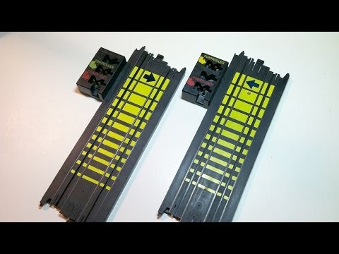 How To Modify Tyco Terminal Track For A Large HO Slot Car Layout
