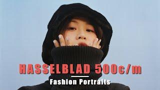 BTS Fashion Portraits On Medium Format Film | Hasselblad 500cm | Cinestill 50D & Fuji Pro 400H
