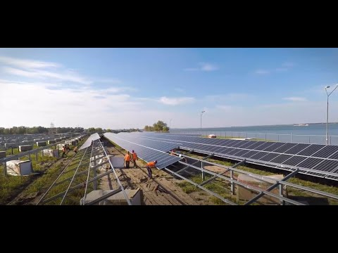 Installatie van de zonnepanelen