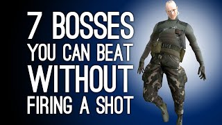 7 Hard Bosses You Can Beat Without Firing a Shot