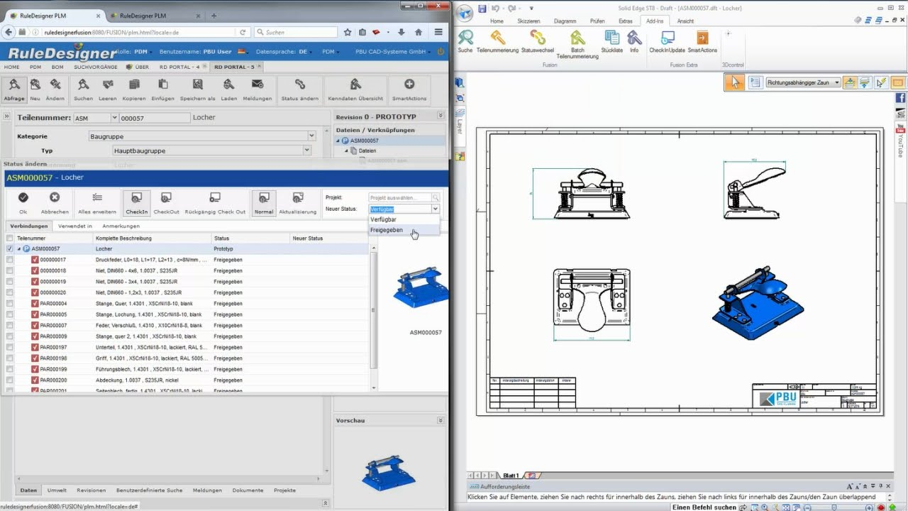 Vorschaubild: RuleDesigner PDM