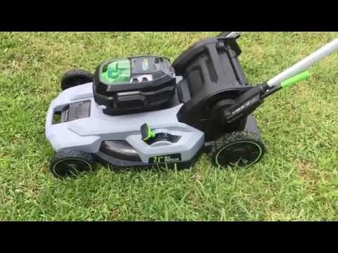 Before You Buy! Ego 21″ Self Propelled Electric Mower Review