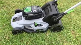 "Before You Buy! Ego 21"" Self Propelled Electric Mower Review"