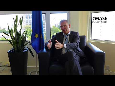On the spot:  H. E. Mr Vincent DEGERT,  #EU Ambassador on Maritime Security in  Western Indian Ocean