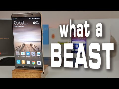 Huawei Mate 9 Review – The Best Smartphone 2016 ?!