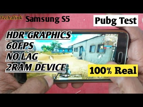 Play Pubg Mobile HDR Graphics on Samsung S5 with 60FPS - VizzYT
