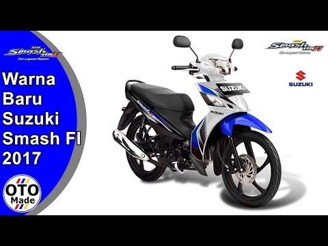 Warna Terbaru Suzuki Smash FI 2017
