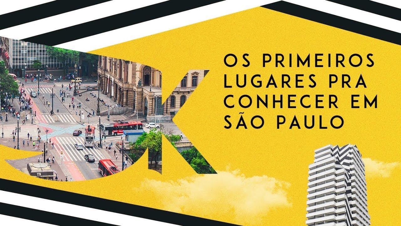 Lugares pra conhecer em São Paulo