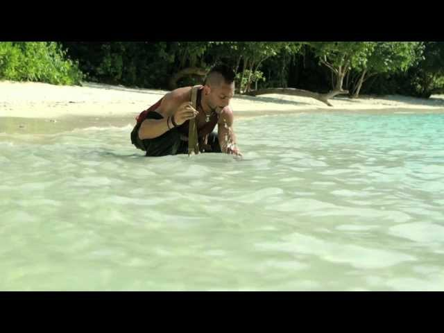 Vaas on snorkeling (Michael Mando & Christopher Mintz-Plasse)
