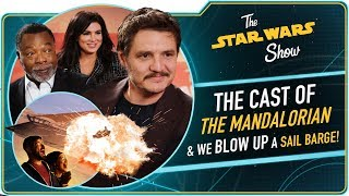 We Talk to The Mandalorian Cast, Plus We Blow Up Jabba's Sail Barge
