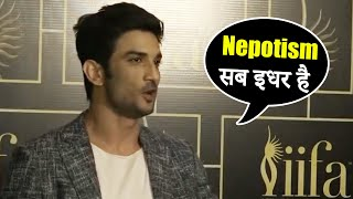 Sushant Singh Rajput BEST REPLY On Nepotism In Bollywood | #Throwback