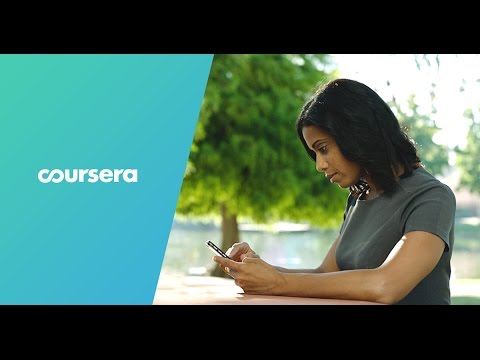Coursera: online university knowledge for everyone.