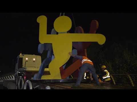 I Girotondi di Keith Haring al coop.fi di Ponte a Greve