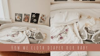 OUR INEXPENSIVE CLOTH DIAPERS | How We Planned To Cloth Diaper - Covers, Fitteds And Prefolds
