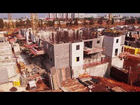 Construction Project, Herzliya, Israel 4K UHD