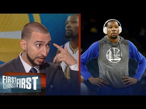 Kevin Durant apologizes for 'idiotic' tweets on Thunder - Nick and Cris react | FIRST THINGS FIRST