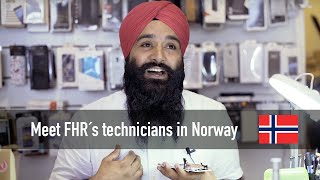 Meet Singh technician from Norway