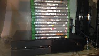 Présentation de mes jeux Xbox One